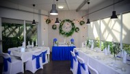 Свадебное оформление от Decorsvadba.by в кафе «Оранжерея»