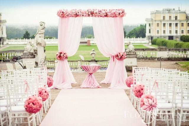Какие бывают свадебные арки