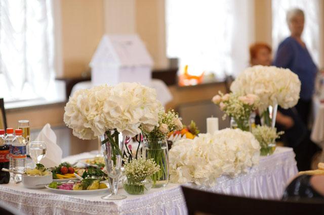 Белая свадьба. Букеты.
