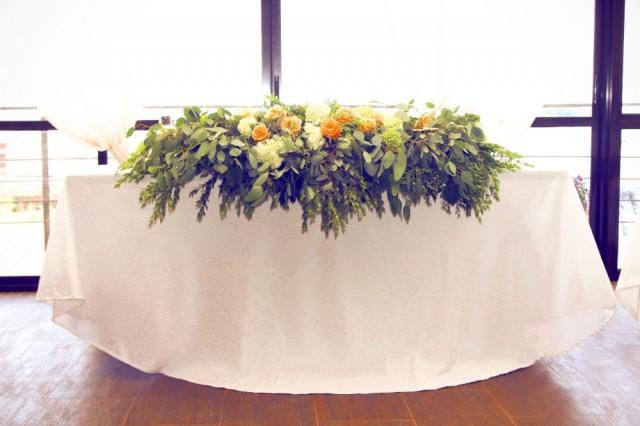 Зеленая свадьба. Свадьба в зеленом цвете.