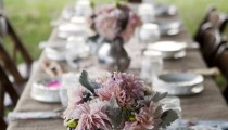 Свадьба в стиле rustik. Стол. Фото.