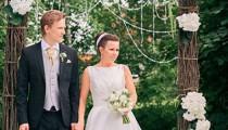 Свадьба в стиле rustik. Арка. Фото.