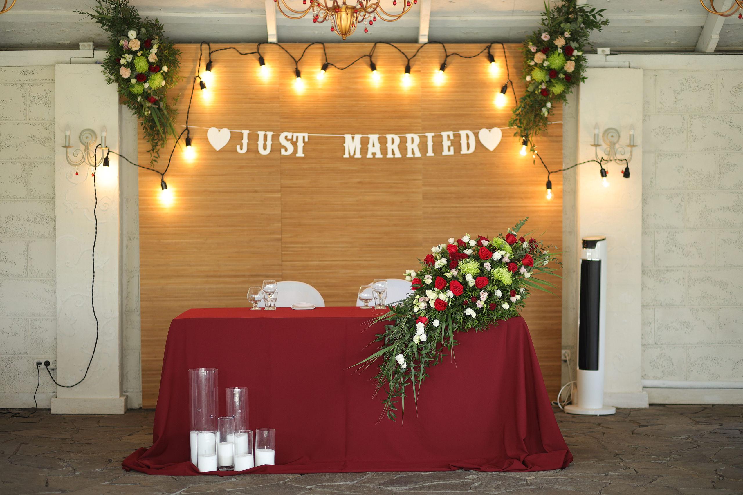 Декор свадьбы и выездной регистрации в усадьбе «О-Рай»