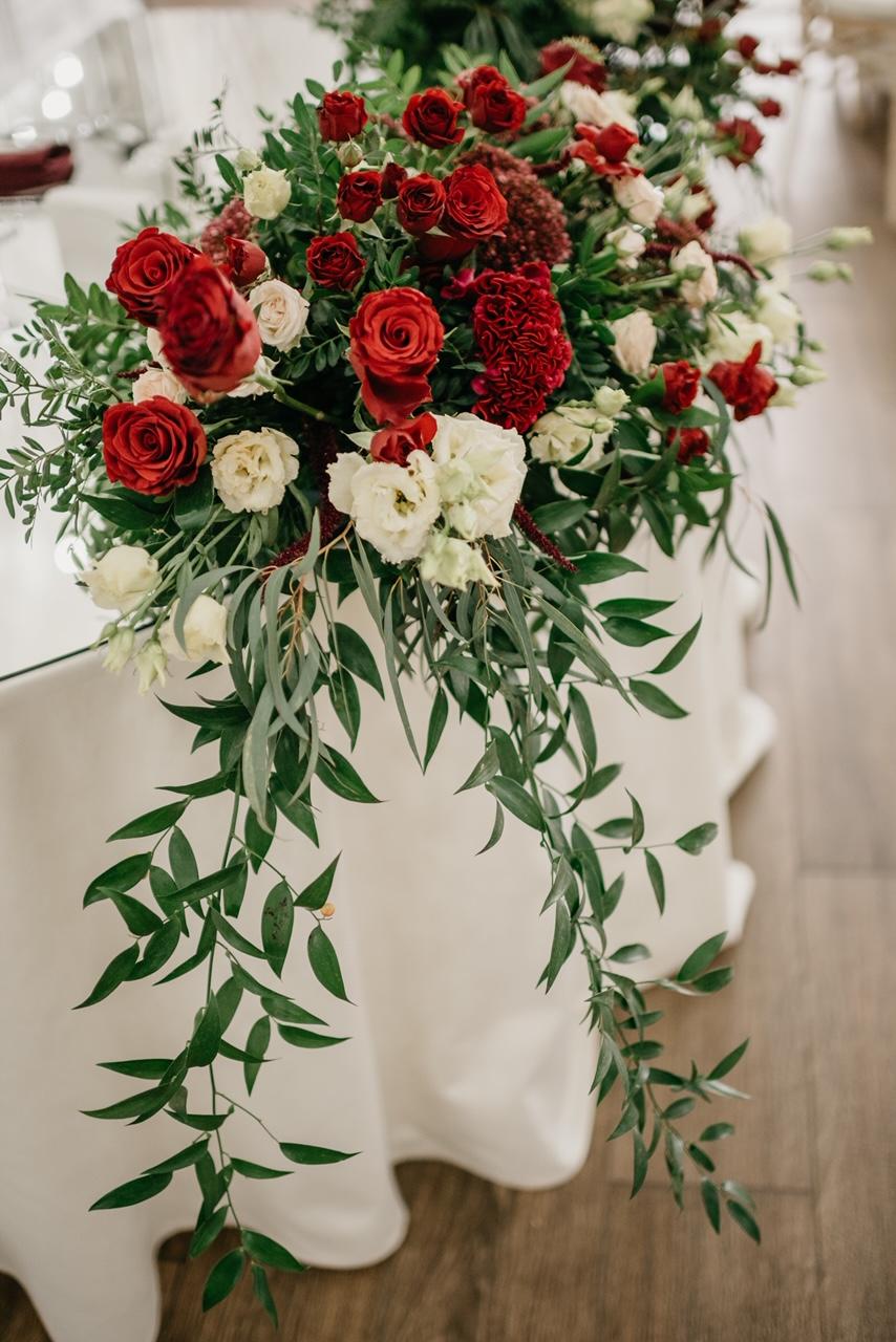 Свадебный декор и выездная регистрация в усадьбе Royal Hall