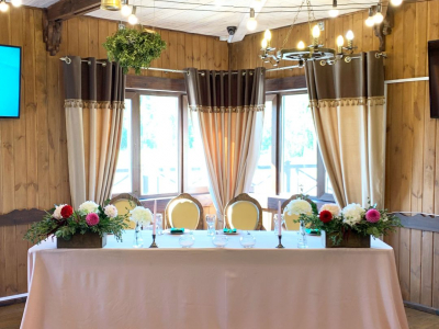 Оформление свадьбы Кирилла и Марии 23-го августа