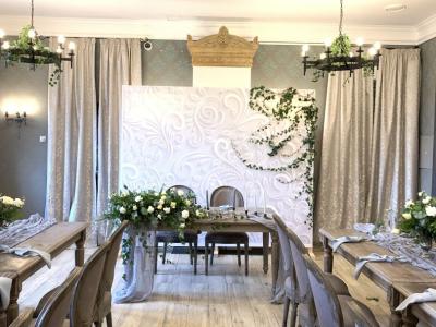 Свадебный декор в ресторане «Грай»