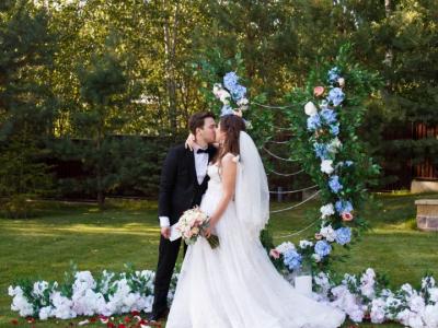 Свадебное оформление в усадьба «Атмосфера»