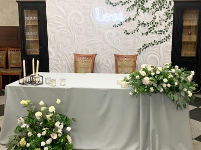 Свадебное оформление в загородном комплекте «Веста»