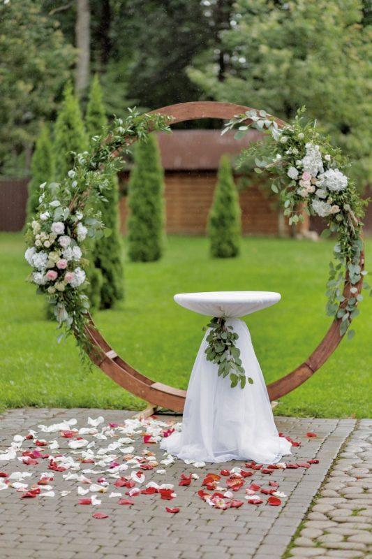 Оформление свадебной выездной регистрации