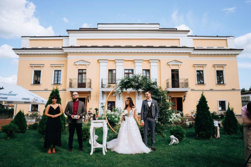 8 августа, Андрей & Лиза (усадьба Ваньковичей)